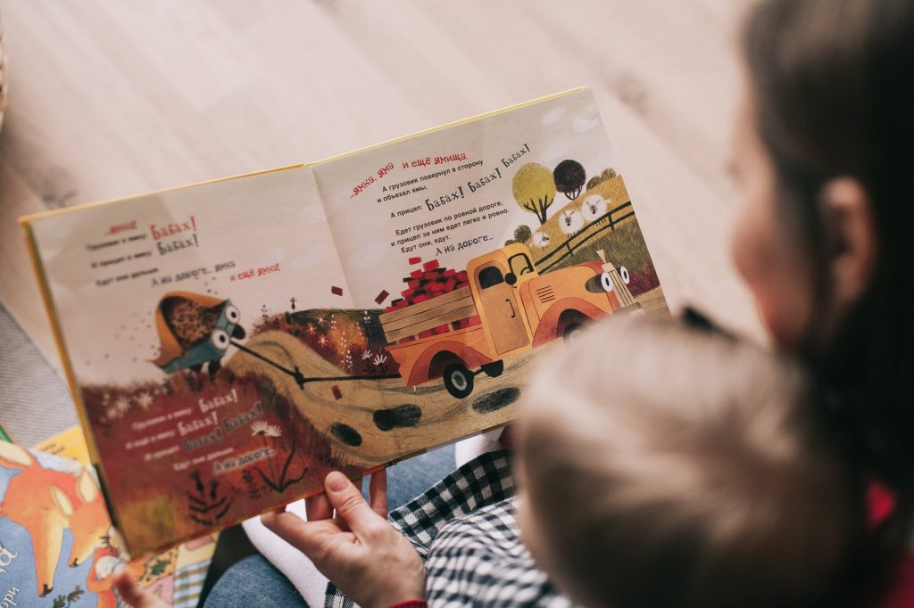 bedtime reading is a beautiful way to build a bond with your child