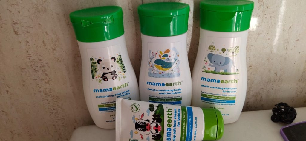 Mama Earth the best skin care for kids based on my personal experience with a different range of products.