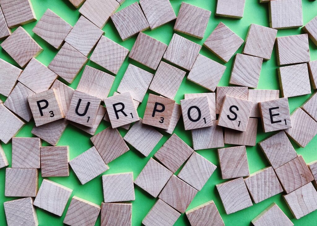 Word of year gives you a purpose